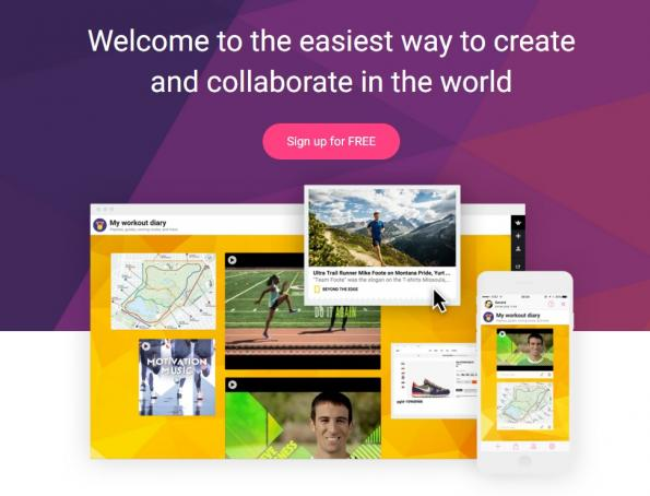 introductory information about Padlet